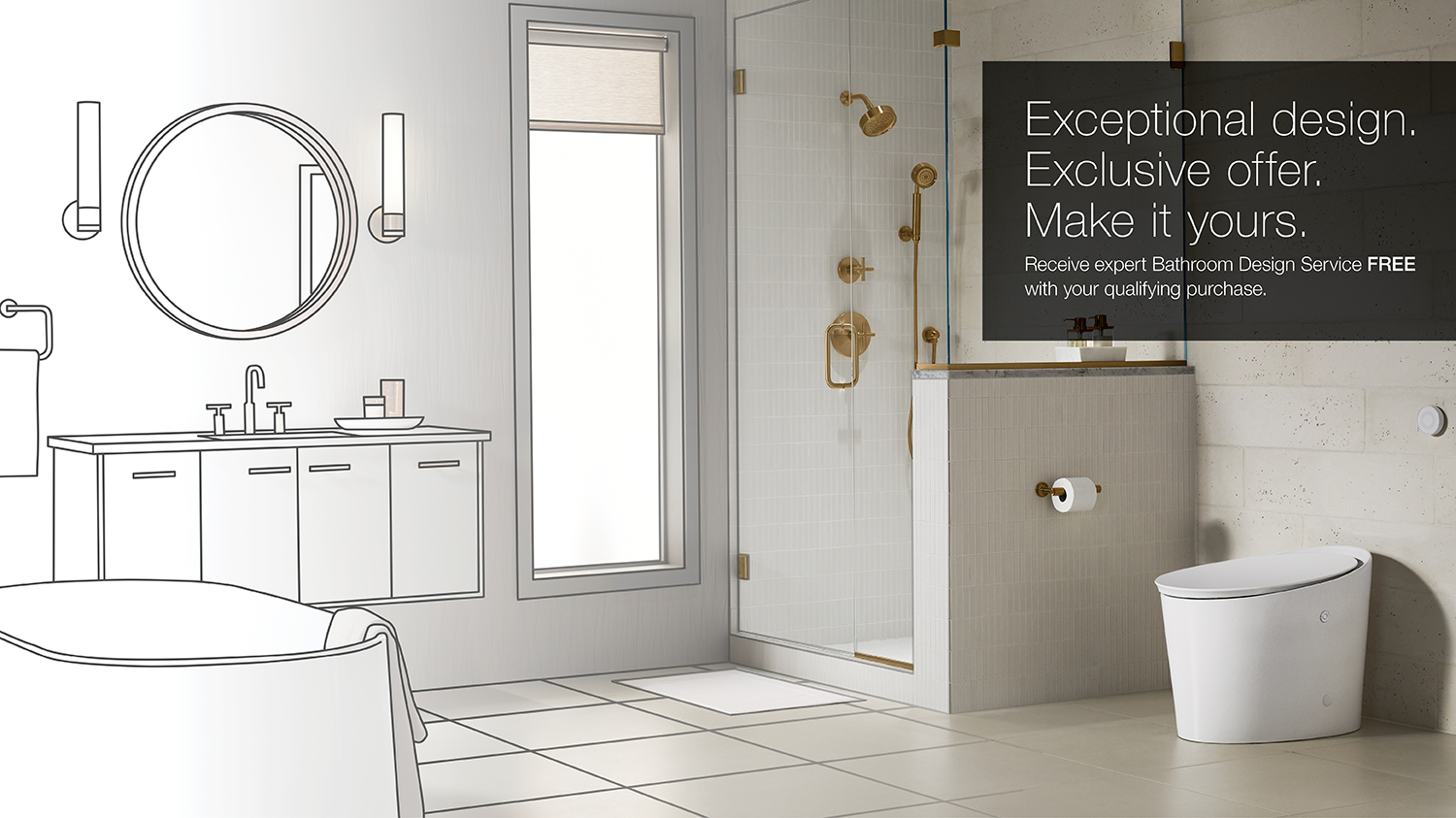 Kohler Bathroom Design Service Promotion